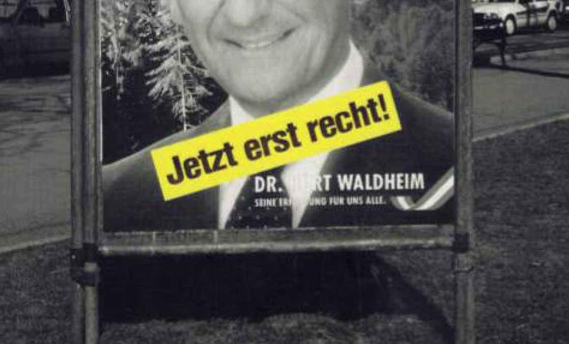 1986, Wahlplakat© Ruth Beckermann Filmproduktion